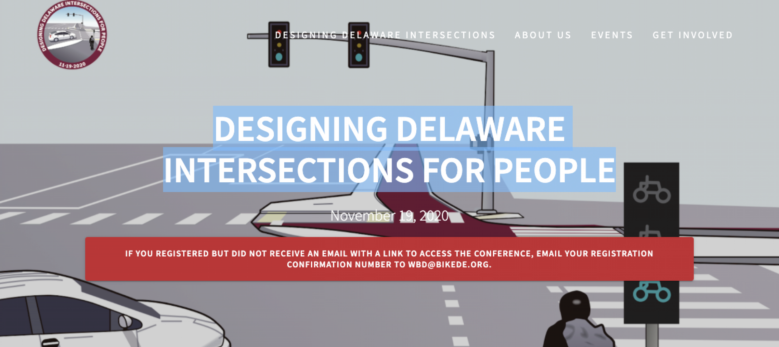 Presenting Dutch style intersections in Delaware